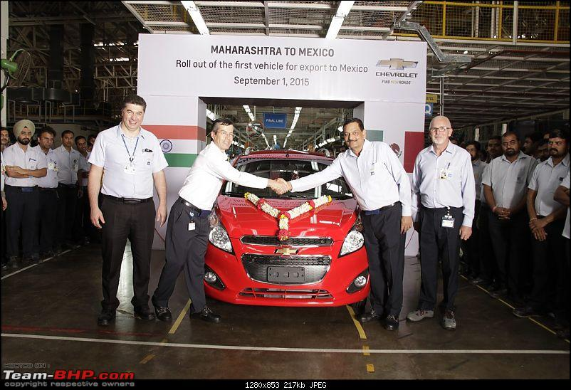 Chevrolet rolls out first Beat hatchback for export to Mexico-beat.jpg