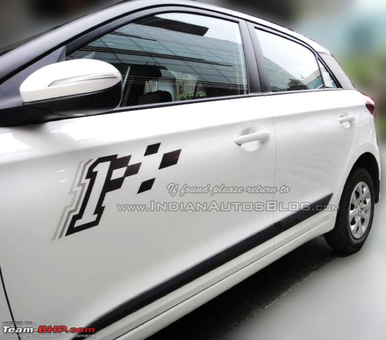Hyundai Elantra Hatchback >> Hyundai readying Elite i20 Celebration Edition for launch ...