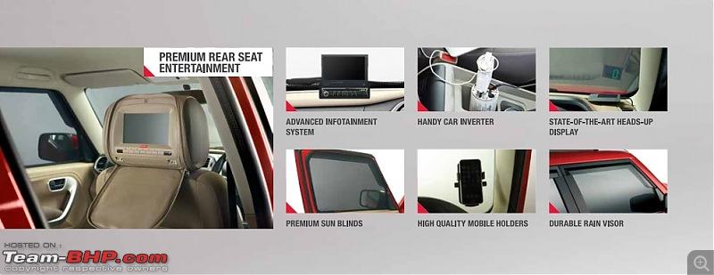 Next-generation Mahindra Bolero? NAMED: Mahindra TUV300!  EDIT: Now launched at Rs. 6.90 lakhs-mahindratuv300accessorypackage.jpg
