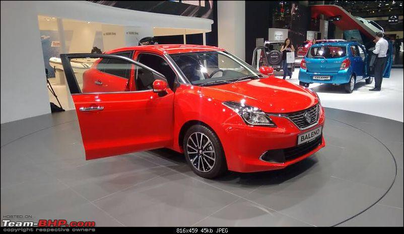 Next-gen Suzuki Baleno (YRA) unveiled. EDIT: Now launched at Rs. 4.99 lakhs-1442779193288.jpg
