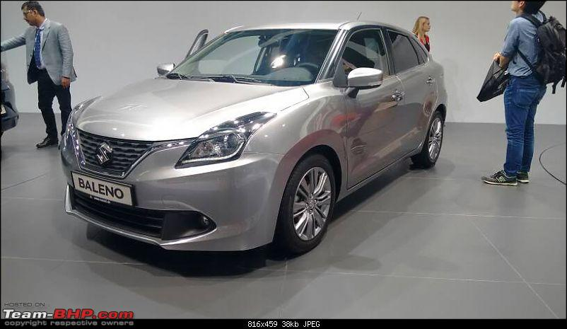 Next-gen Suzuki Baleno (YRA) unveiled. EDIT: Now launched at Rs. 4.99 lakhs-1442779212329.jpg