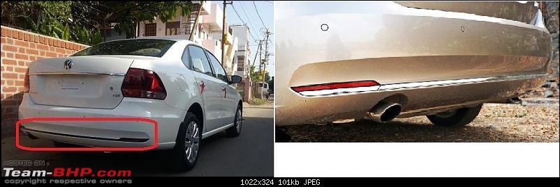 2015 Volkswagen Vento Facelift : A Close Look-ventorearbumper.jpg