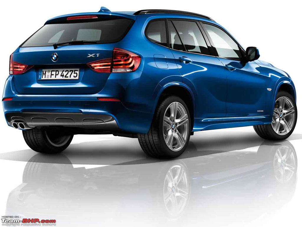 bmw x1 m sport launched in india at rs 37 9 lakh team bhp. Black Bedroom Furniture Sets. Home Design Ideas