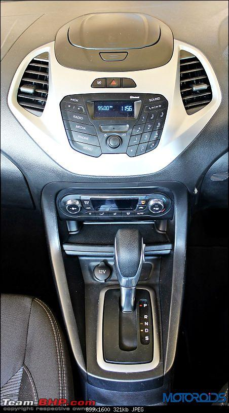 The next-gen 2015 Ford Figo. EDIT: Now launched-new2015fordfigoautomaticgearshifter.jpg