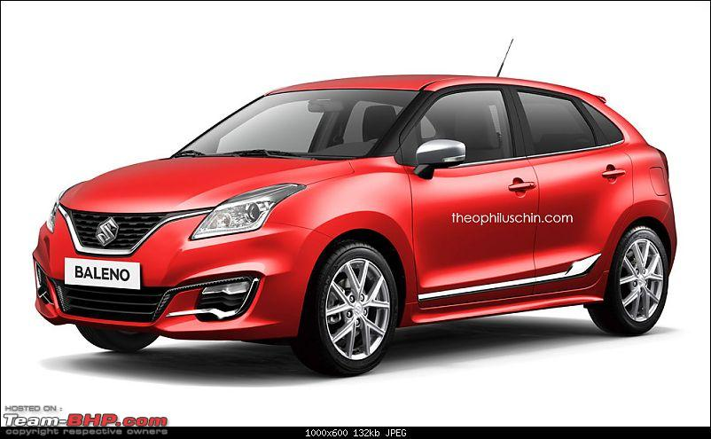 Next-gen Suzuki Baleno (YRA) unveiled. EDIT: Now launched at Rs. 4.99 lakhs-21087586613_13f860cecb_b.jpg