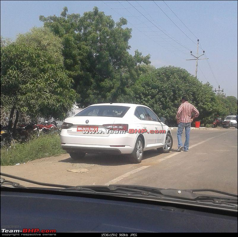 Scoop! Third-gen Skoda Superb spotted testing in India EDIT: Launched at Rs. 22.68 lakhs!-3.jpg