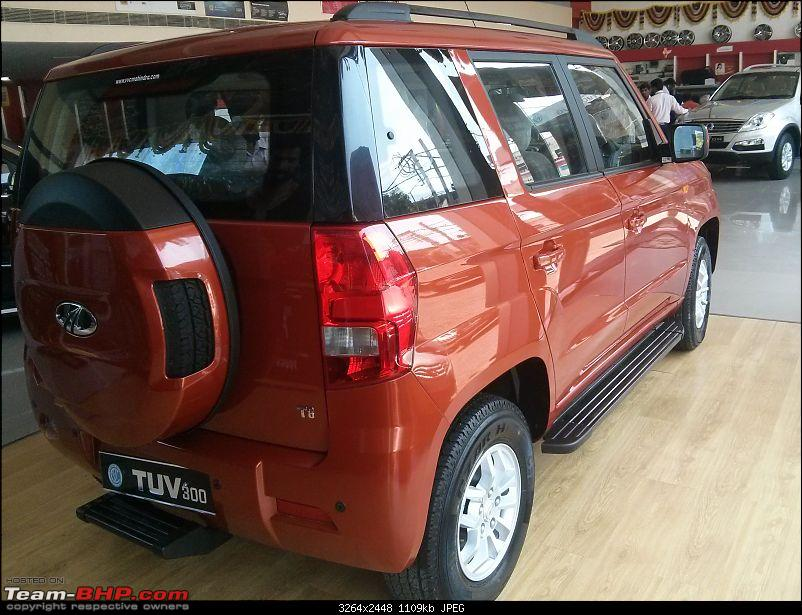 Next-generation Mahindra Bolero? NAMED: Mahindra TUV300!  EDIT: Now launched at Rs. 6.90 lakhs-img_20151007_131713.jpg