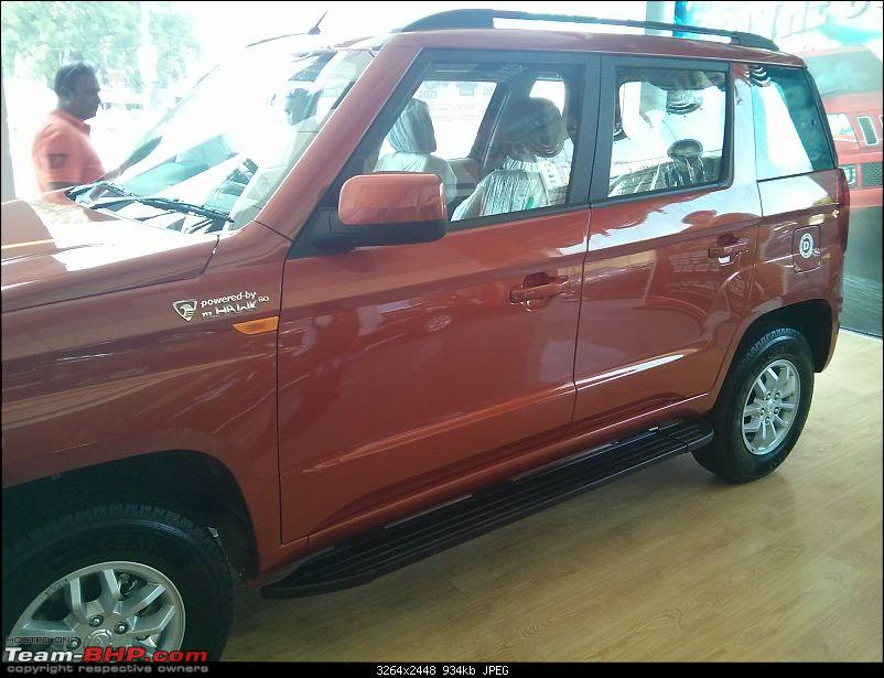 Next-generation Mahindra Bolero? NAMED: Mahindra TUV300!  EDIT: Now launched at Rs. 6.90 lakhs-img_20151007_131831.jpg