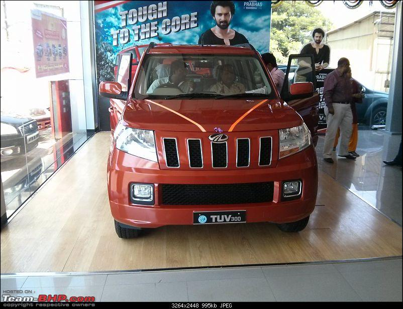 Next-generation Mahindra Bolero? NAMED: Mahindra TUV300!  EDIT: Now launched at Rs. 6.90 lakhs-img_20151007_132432.jpg