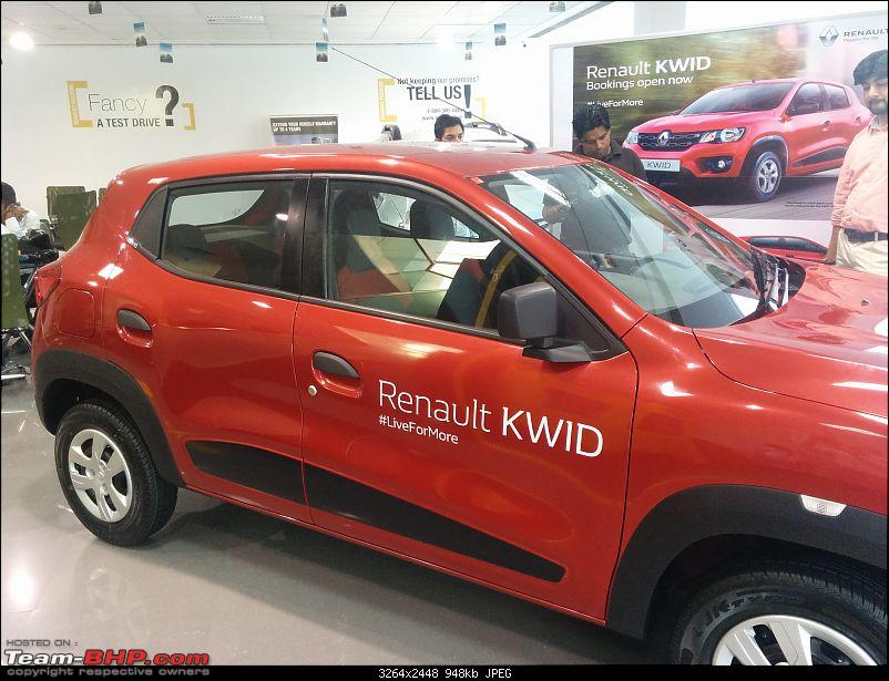 Renault's Kwid entry level hatchback unveiled EDIT: Now launched at Rs. 2.57 lakhs!-img_20151007_154043.jpg