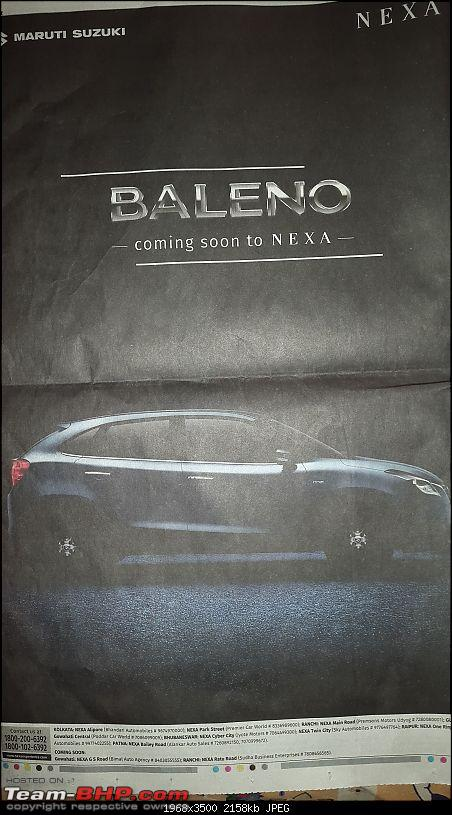 Next-gen Suzuki Baleno (YRA) unveiled. EDIT: Now launched at Rs. 4.99 lakhs-20151008_124656.jpg