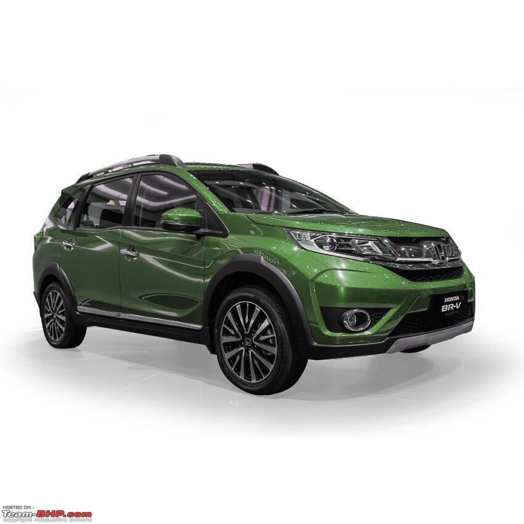 Suv Cars Page 7: Honda BR-V: The Brio-based SUV