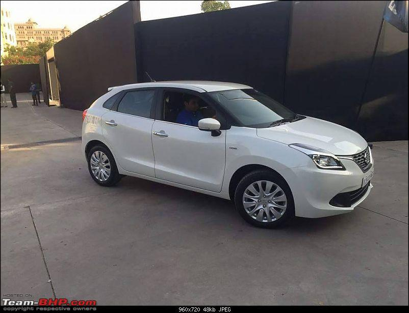 Next-gen Suzuki Baleno (YRA) unveiled. EDIT: Now launched at Rs. 4.99 lakhs-11250032_746897705415027_7156261060007676088_n.jpg