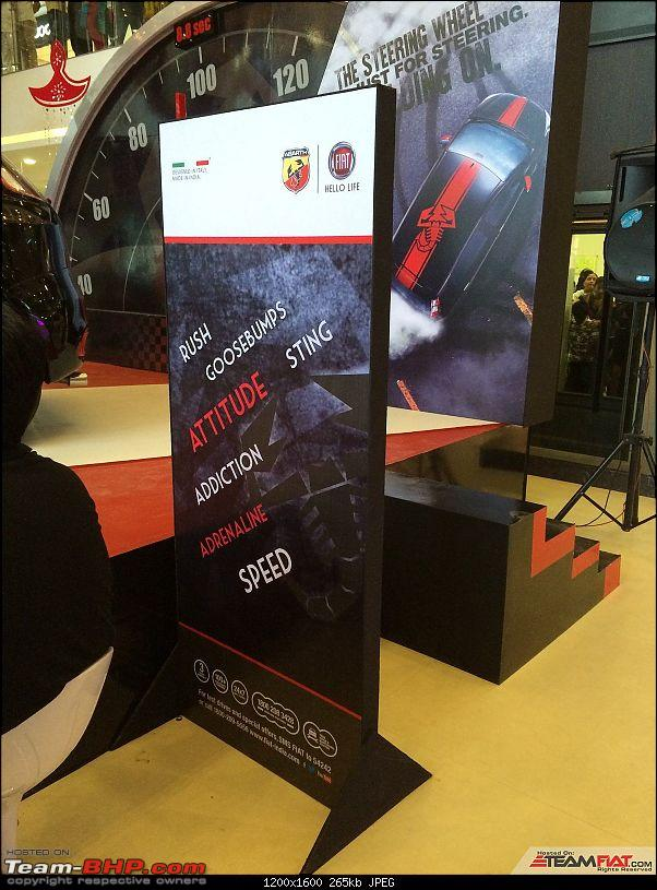 A Close Look: Fiat Punto Abarth. EDIT: Now launched at Rs. 9.95 lakhs!-img_3933.jpg