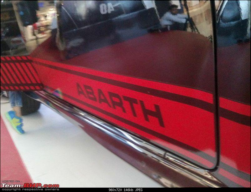 A Close Look: Fiat Punto Abarth. EDIT: Now launched at Rs. 9.95 lakhs!-12096637_10204999390611138_6812606429763826382_n.jpg