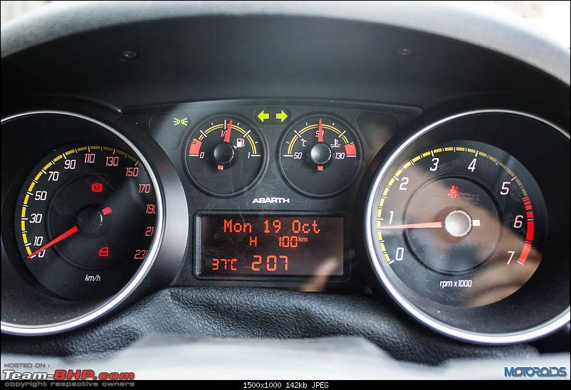 A Close Look: Fiat Punto Abarth. EDIT: Now launched at Rs. 9.95 lakhs!-fiatabarthpuntoinstrumentcluster.jpg
