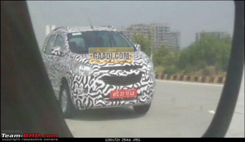Chevrolet Spin MPV caught testing in Gujarat. EDIT: Will NOT be launched-chevroletspin3.jpg