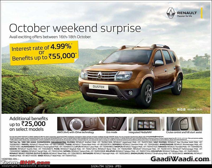 "The ""NEW"" Car Price Check Thread - Track Price Changes, Discounts, Offers & Deals-best2015festivediscountoffersrenaultduster.jpg"