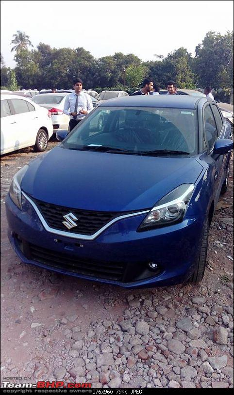 Next-gen Suzuki Baleno (YRA) unveiled. EDIT: Now launched at Rs. 4.99 lakhs-12122692_540511836098706_8747471477037431655_n.jpg