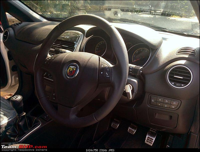 A Close Look: Fiat Punto Abarth. EDIT: Now launched at Rs. 9.95 lakhs!-img-13.jpg