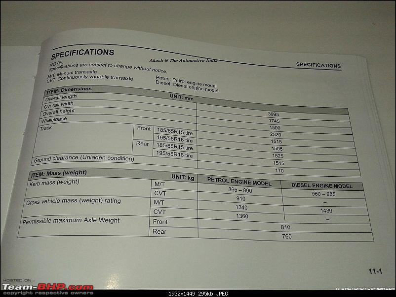 Next-gen Suzuki Baleno (YRA) unveiled. EDIT: Now launched at Rs. 4.99 lakhs-20151025_154256.jpg
