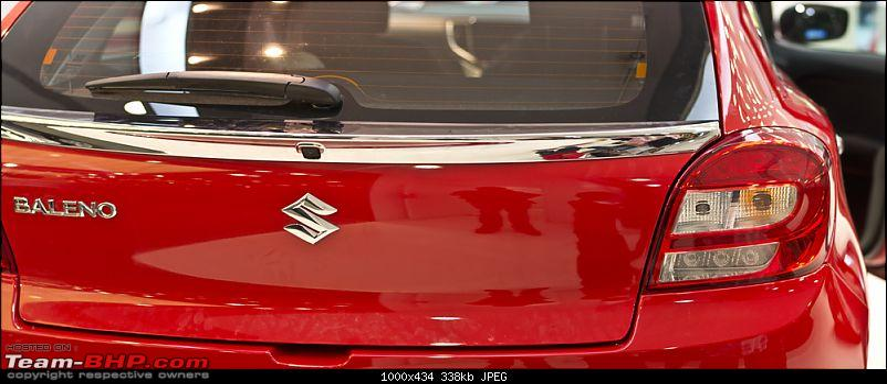 Next-gen Suzuki Baleno (YRA) unveiled. EDIT: Now launched at Rs. 4.99 lakhs-behind.jpg