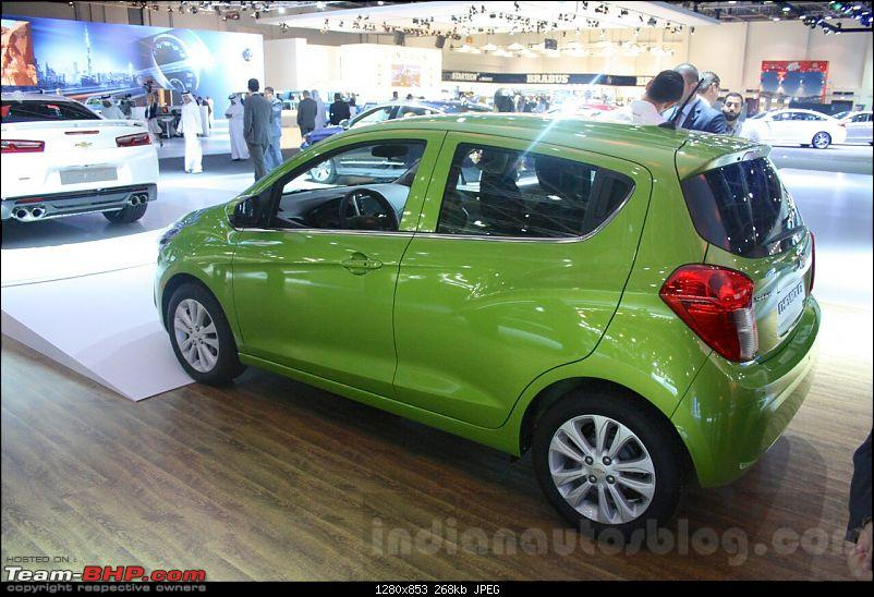 Second generation Chevrolet Beat (Spark, internationally) coming in 2015-3.jpg