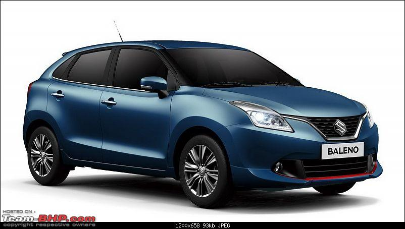 Next-gen Suzuki Baleno (YRA) unveiled. EDIT: Now launched at Rs. 4.99 lakhs-suzukibalenowebseditionfrontquarterlaunchedinitaly.jpg