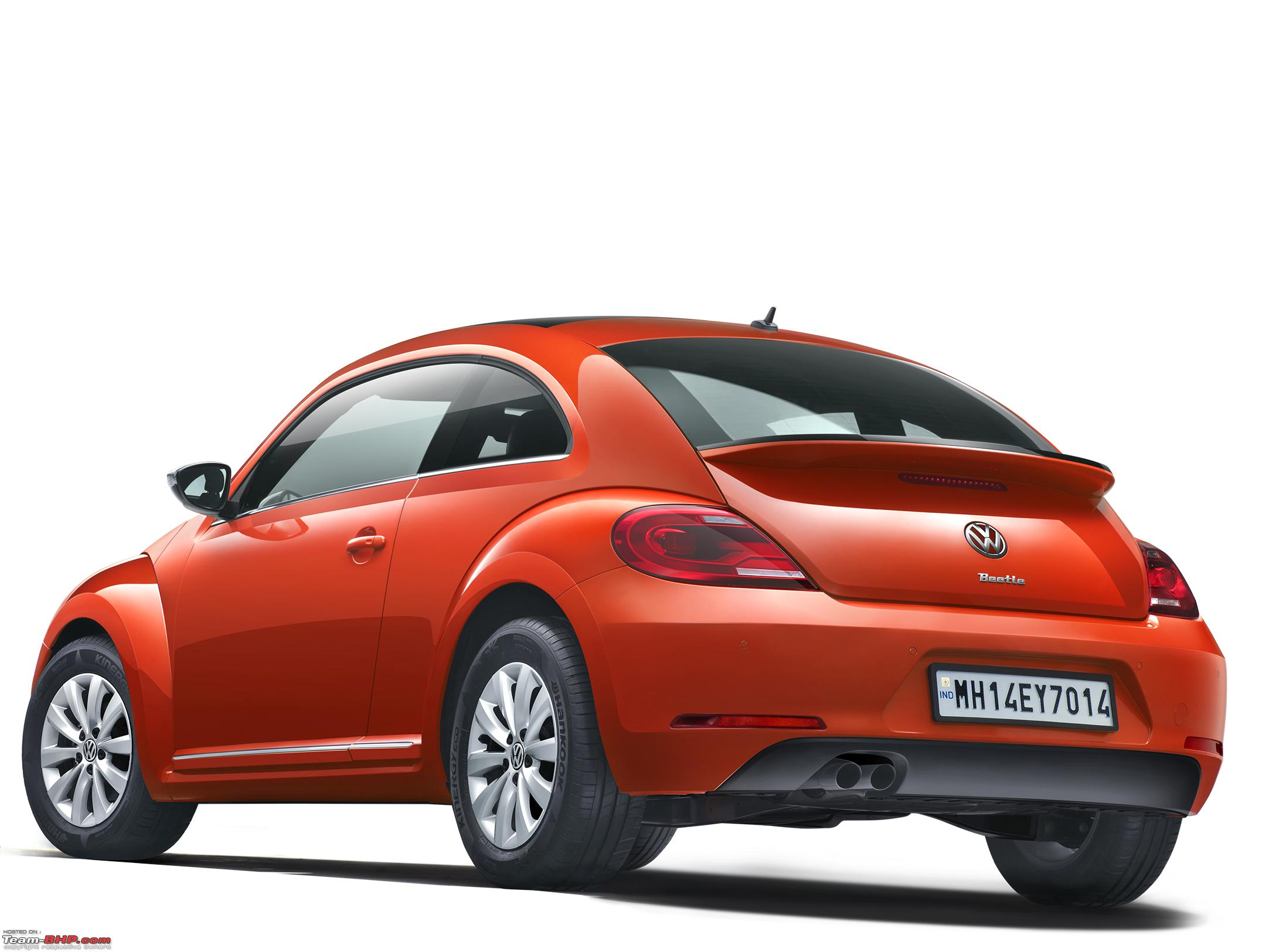 Volkswagen Beetle Launched In India At Rs 28 73 Lakh Team Bhp