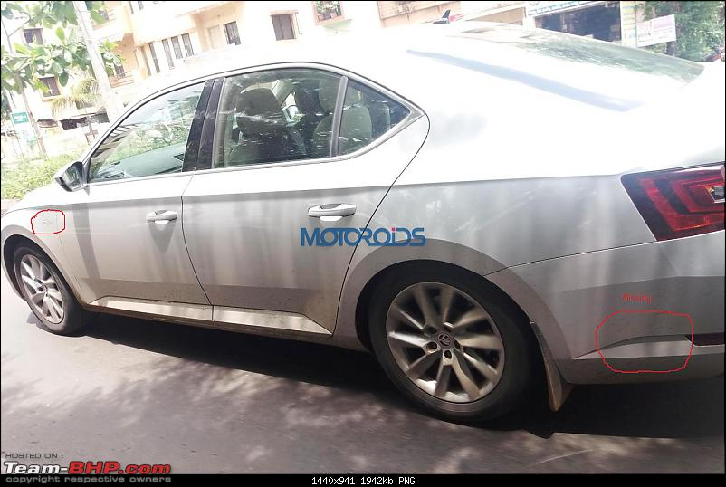 Scoop! Third-gen Skoda Superb spotted testing in India EDIT: Launched at Rs. 22.68 lakhs!-2015skodasuperb1.png