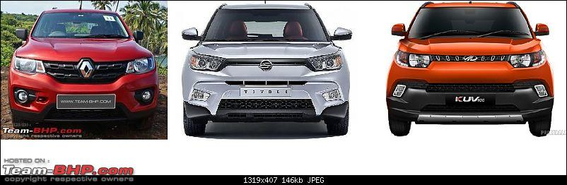 The Mahindra XUV300, aka Ssangyong Tivoli. Edit: Launched @ 7.9 lakhs-fishy.jpg