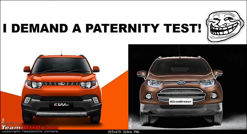 Mahindra unveils KUV100 compact SUV. EDIT: Now launched at Rs. 4.42 lakh (ex-Pune)-kuv100.png