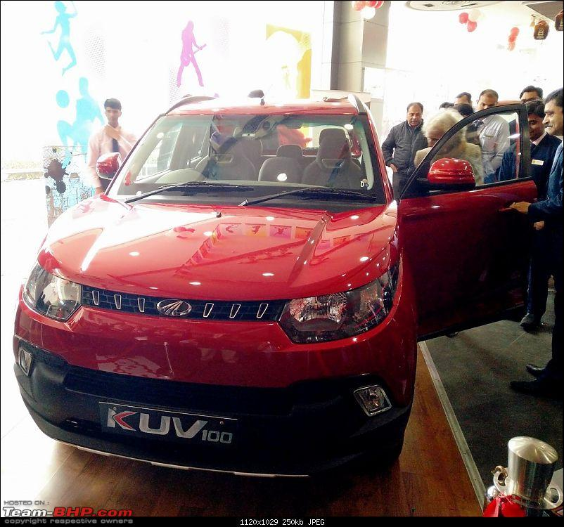 Mahindra unveils KUV100 compact SUV. EDIT: Now launched at Rs. 4.42 lakh (ex-Pune)-img_20160115_133615.jpg