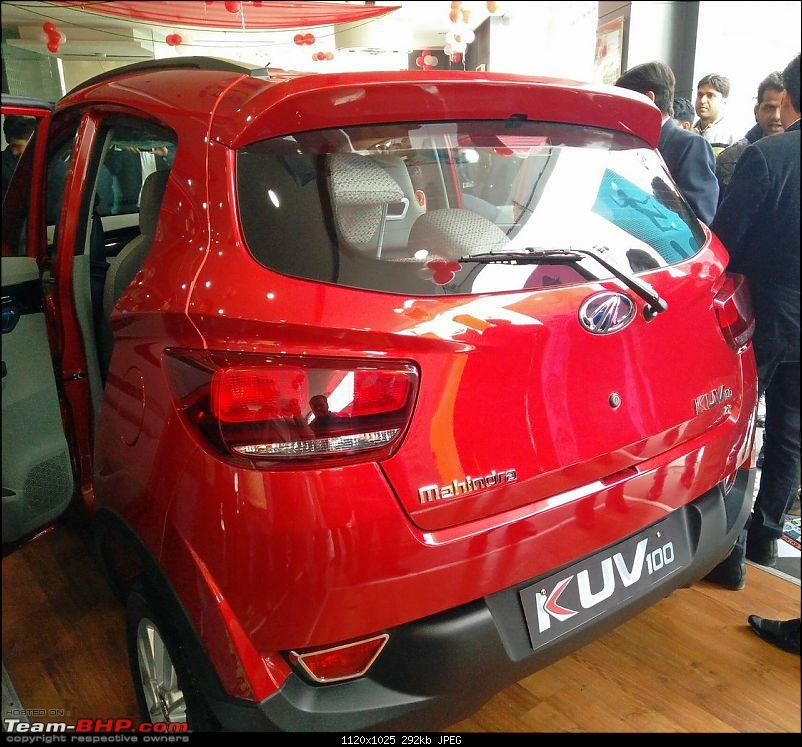 Mahindra unveils KUV100 compact SUV. EDIT: Now launched at Rs. 4.42 lakh (ex-Pune)-img_20160115_133704.jpg
