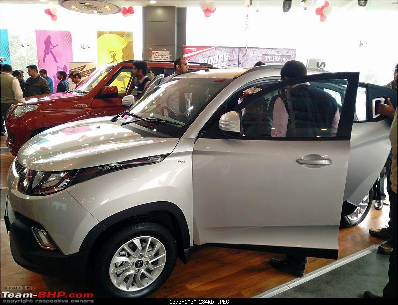 Mahindra unveils KUV100 compact SUV. EDIT: Now launched at Rs. 4.42 lakh (ex-Pune)-img_20160115_134020.jpg