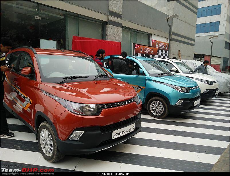 Mahindra unveils KUV100 compact SUV. EDIT: Now launched at Rs. 4.42 lakh (ex-Pune)-img_20160115_134135.jpg