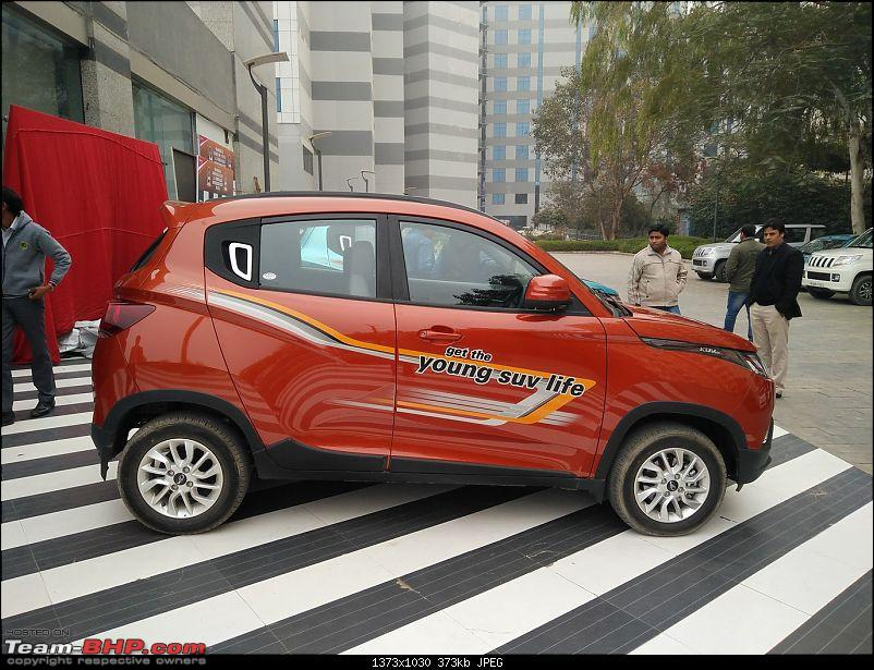 Mahindra unveils KUV100 compact SUV. EDIT: Now launched at Rs. 4.42 lakh (ex-Pune)-img_20160115_135029.jpg