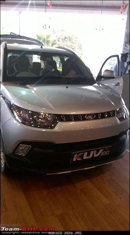 Mahindra unveils KUV100 compact SUV. EDIT: Now launched at Rs. 4.42 lakh (ex-Pune)-wp_20160115_003.jpg
