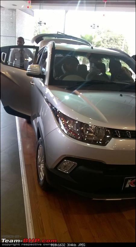 Mahindra unveils KUV100 compact SUV. EDIT: Now launched at Rs. 4.42 lakh (ex-Pune)-wp_20160115_004.jpg