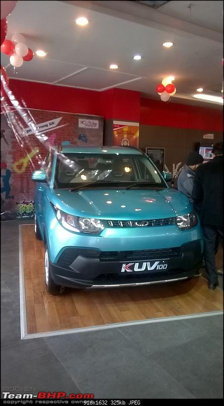 Mahindra unveils KUV100 compact SUV. EDIT: Now launched at Rs. 4.42 lakh (ex-Pune)-wp_20160115_010.jpg