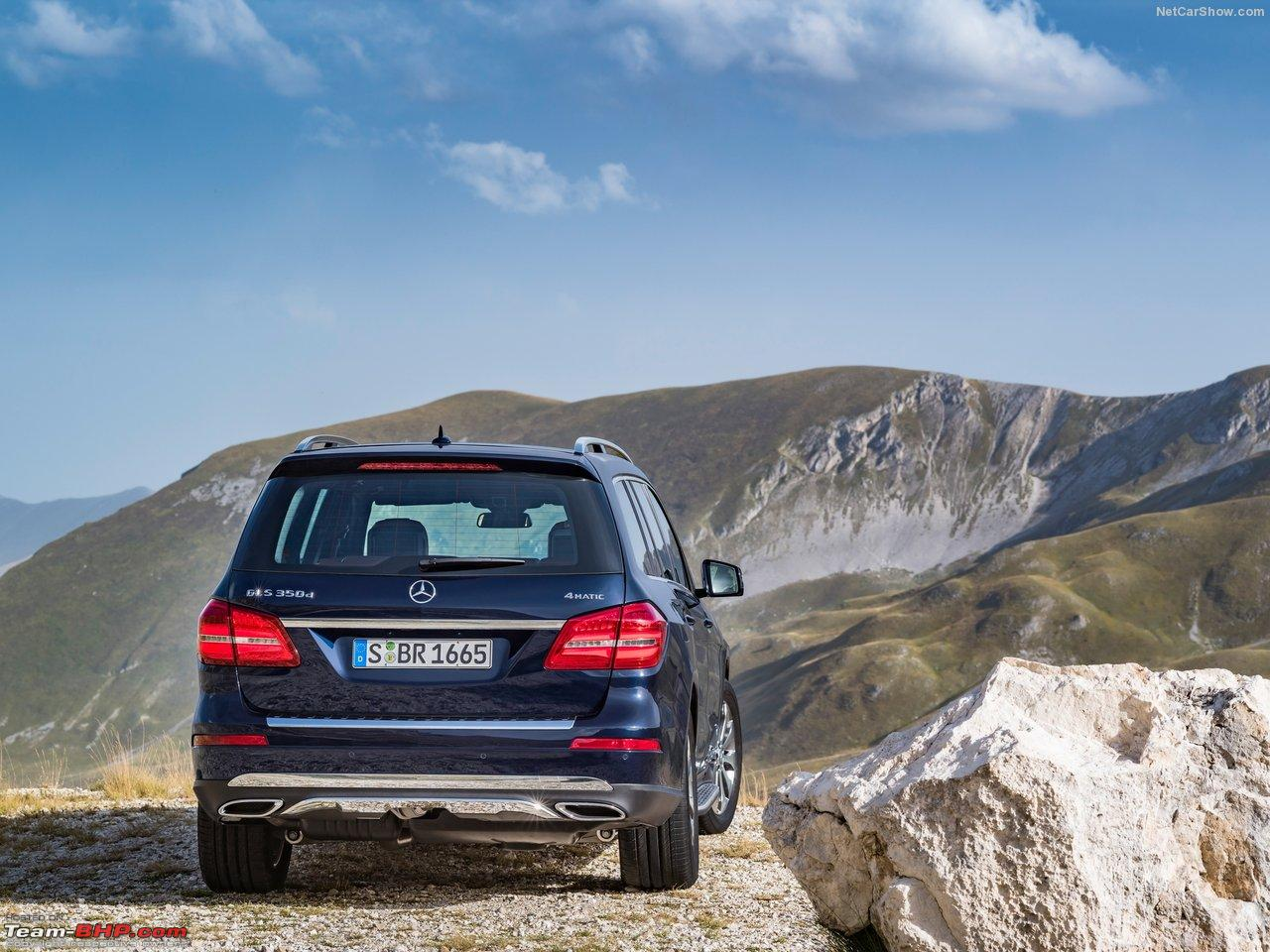 Mercedes brings in gls350d for homologation team bhp for Mercedes benz gls 350d price in india