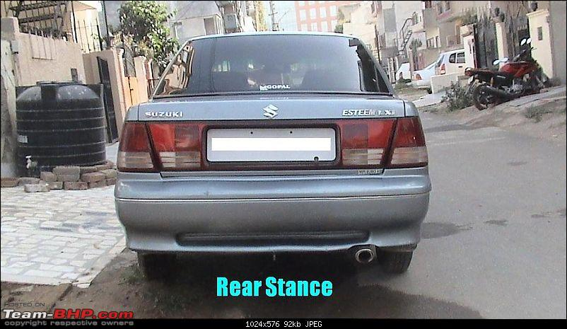 Which car has the best looking backside?-7286d1240119463mydiymoddedmarutisuzukiesteemrearstance.jpg