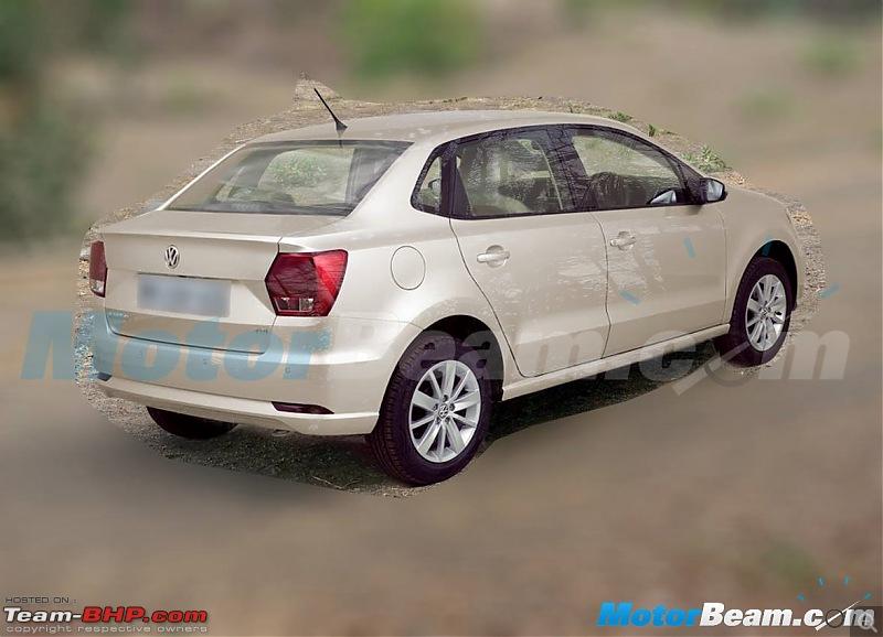 VW's Polo-based compact sedan, Ameo unveiled!-2016volkswagenameo.jpg