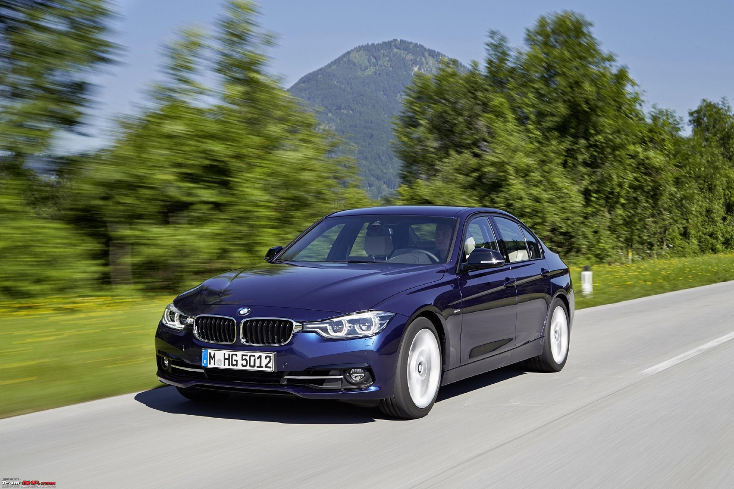 Updated Bmw 3 Series Launched F30 Lci Gets M Sport Variant Team Bhp