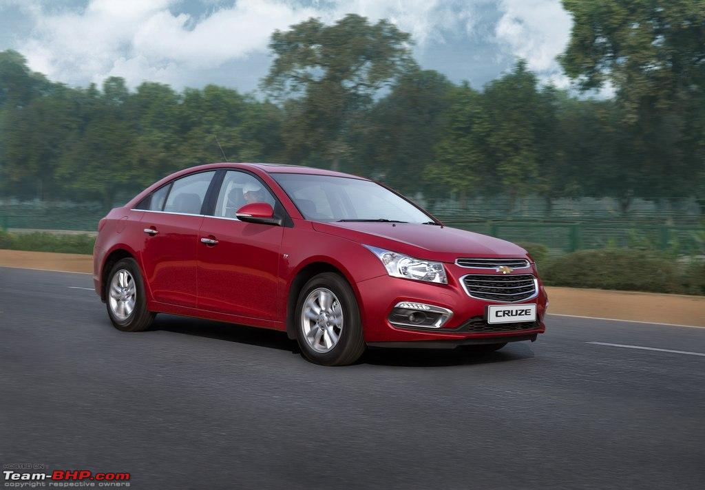 chevrolet cruze gets a minor facelift more features for 2016 team bhp. Black Bedroom Furniture Sets. Home Design Ideas