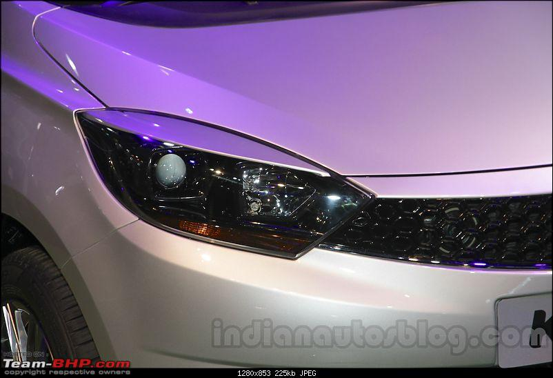 Tata Tiago-based compact sedan. EDIT: Unveiled at the Auto Expo 2016!-tatakite5headlightatautoexpo2016.jpg
