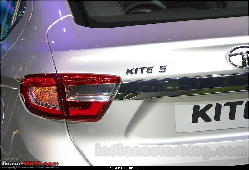 Tata Tiago-based compact sedan. EDIT: Unveiled at the Auto Expo 2016!-tatakite5taillightatautoexpo2016.jpg