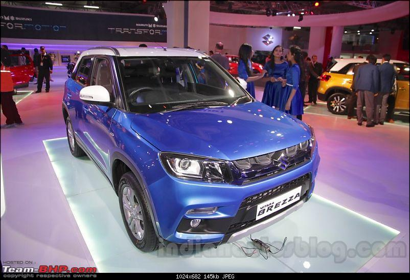 Which car wowed you at the Auto Expo 2016?-marutivitarabrezza.jpg