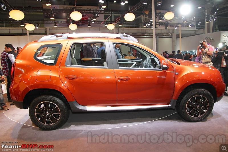 Renault Duster facelift spotted testing in India-2016renaultdusterfaceliftsideautoexpo2016.jpg