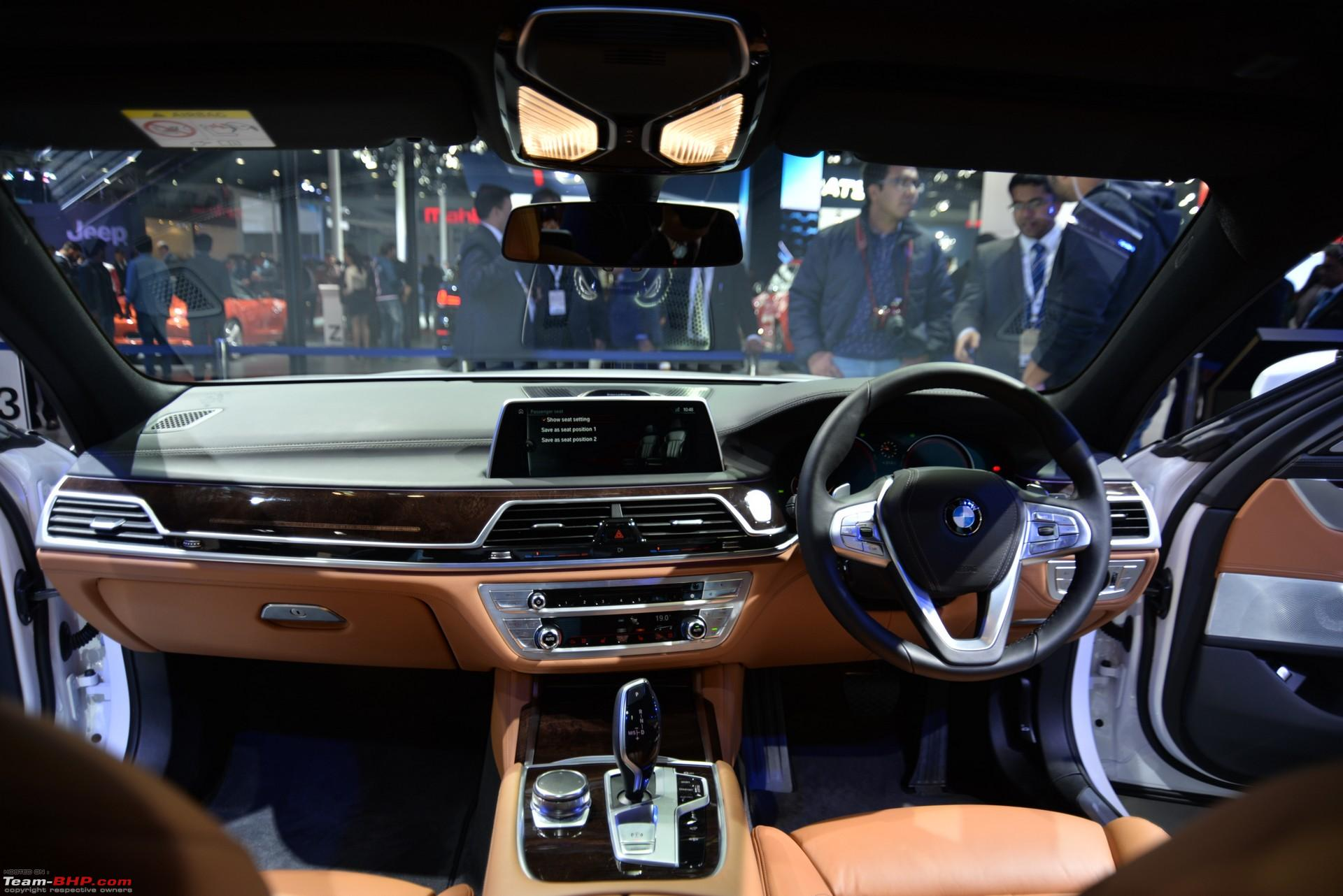 Interior Next Gen BMW 7 Series Launched Auto Expo 2016 01 Aaa 2363